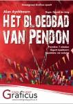 Affiche Het Bloedbad van Pendon, Toneelgroep Graficus, toneelvereniging uit Apeldoorn